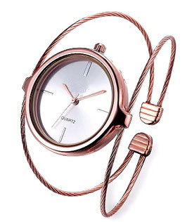 Montre F. The Twine Rose Gold