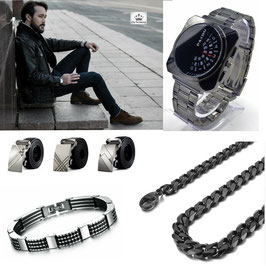 Les Indispensables Homme : Black Steel