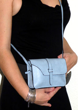 Mini Sac Fashion Gris Bleu