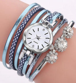 Montre Femme Casual Colors - Blue Azur