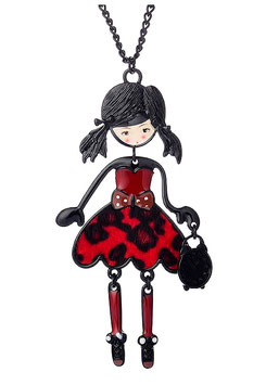 Sautoir Lola Red