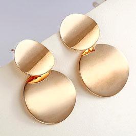 Boucles d'Oreilles N5 Gold