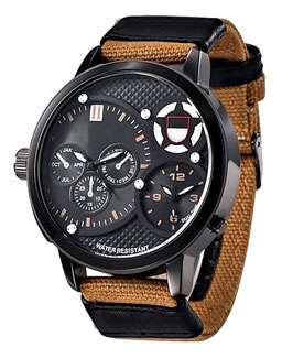 Montre Homme Only The Street Brown/Beige