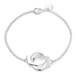 Bracelet Femme- Menottes Argent