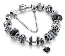 Bracelet Charm'S Liberty - Argent Plaqué