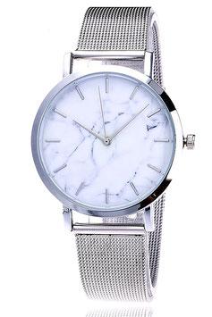 Montre Femme Argento Carrara Bianco