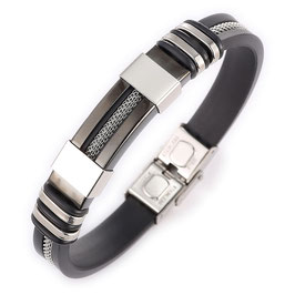 Bracelet Homme Street and City BLACK