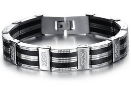 Bracelet Homme Métal Look
