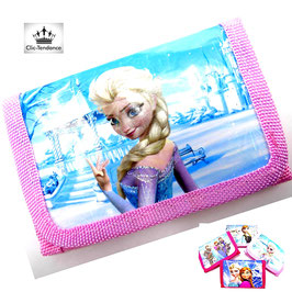 Portefeuille Enfant Reine des Neiges