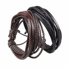 Bracelet First Cuir Tressé