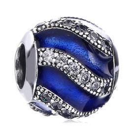 Charm Arabesque Bleu d'étoile