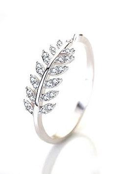 Anneau Lady Diamant - Argent