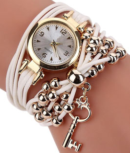 Montre F. Summer - Gold and White
