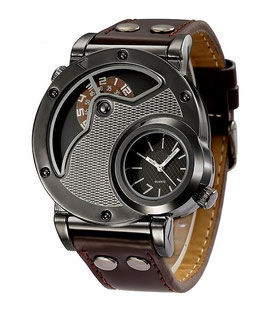 Montre Homme U.S Military  Brown