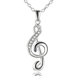Collier Femme Vibe Music - Argent