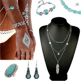 Collection Rêve de Bohème Turquoise