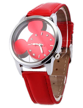 Montre Enfant Mouse Colors Rouge