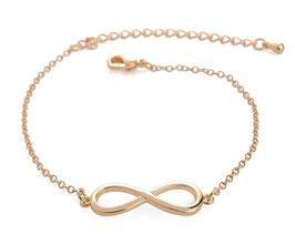 Bracelet Femme Infinity - Doré