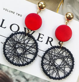 Boucles d'Oreilles Red Cherry