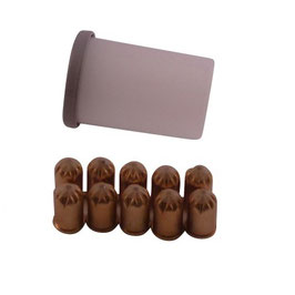 Kartuschen Rot für Wühlmausschussfalle top-fox® 10 Stück
