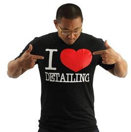 Chemical Guys T Shirt I Love Detailing