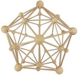 24. Verstärkte Energie der Harmonie, göttliche Urkraft, Heilung (Triakisikosaeder)