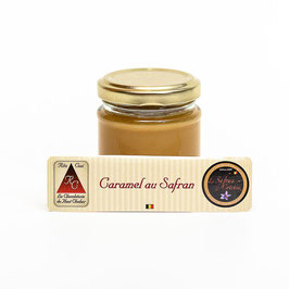 Caramel beurre salé safran.