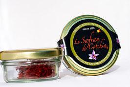Pistils de Safran vendus par 1 gramme  (+/- 150 pistils)
