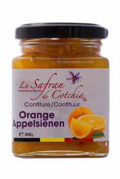 Confiture d'orange au safran de Cotchia