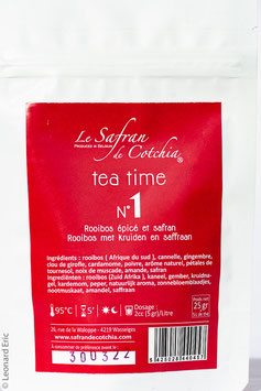 K. TEA TIME 1 SACHET DE 25 GRAMME