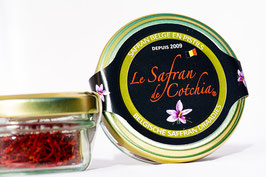 Pistils de Safran vendus par 5 grammes (+/- 750 pistils)