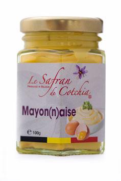 F. Mayonnaise safranée en 100 gr