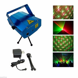 MINIPROYECTOR LASER LUCES PSICODELICAS