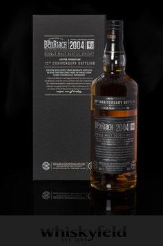 Benriach 2004 10 Jahre 10th Anniversary Bottling 46,0 % Vol 0,7l