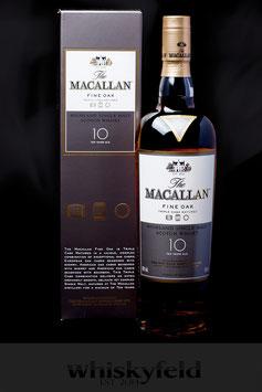 Macallan Fine Oak 10 Jahre 40,0 % Vol 0,7l