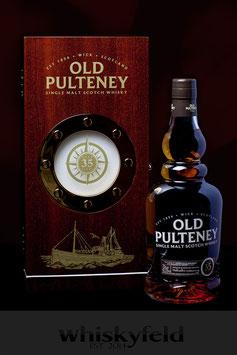 Old Pulteney 35 Jahre Limitierte Abfüllung 450 Flaschen 42,5 % Vol 0,7l