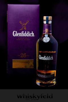 Glenfiddich 26 Jahre Excellence 43,0 % Vol 0,7l