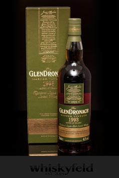 Glendronach Master Vintage 1993 25 Jahre 48,2 % Vol 0,7l