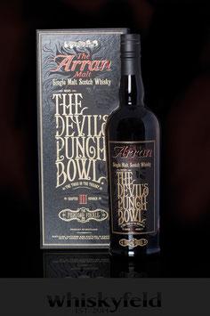 Arran The Devil`s Punch Bowl 3 The Fiendish Finale Limited Edition 53,4 % Vol 0,7l