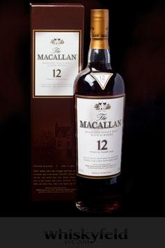 Macallan Sherry 12 Jahre 40,0 % Vol 0,7l
