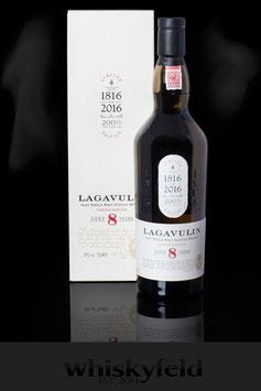 Lagavulin 8 Jahre Limited Edition 200th Anniversary 2016 48,0 % Vol 0,7l