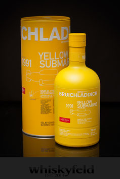 Bruichladdich 1991 WMDIII Yellow Submarine 25 Jahre 46,0 % Vol 0,7l
