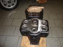 American La France:    Zylinderblock bearbeitet / Cylinderblock machined