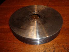 Bugatti 37:  Bremstrommeln Vorne / Brake Drums front.