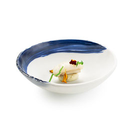 OIA GLASS BOWL 17CM  , 1PZ.