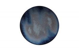 Rebel - Dark Blue COUPE PLATE (10.75IN/27.3CM), CONFEZIONE 1PZ.