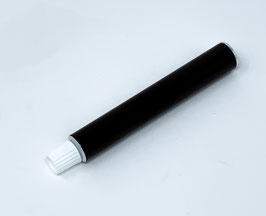 Tubetto NERO con tappo in alluminio ml 15 , 100PZ.