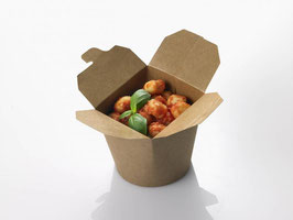 box take away , dimensioni 9,8x8,5x9,5