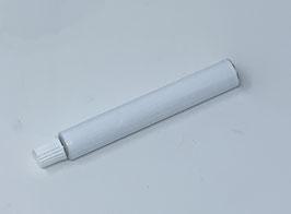 Tubetto bianco con tappo in alluminio ml 15 , 100PZ.