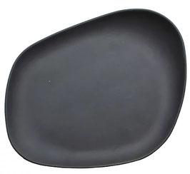 Yayoi FLAT BLACK (23x20x3,5cm),  1pz.